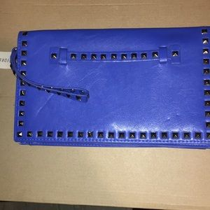 Forever 21 Electric Blue Clutch NWTs